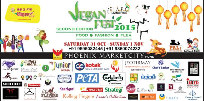 Pune Celebrates World Vegan Day with Vegan Festival @ Phoenix Marketcity