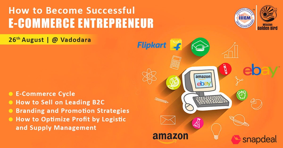 Workshop On How to Become Successful E-commerce Entrepreneur