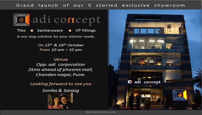 Adi Concept – 5 Storied showroom launching in Pune