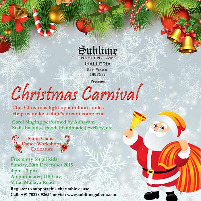 Sublime Presents the Christmas Carnival at UB City
